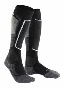 Falke SK2 skisokken 3010 zwart met grijs